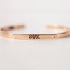 Signature Diamond Cuff | 14-Karat