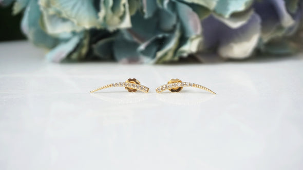 Diamond Drop Earrings | Sample Sale
