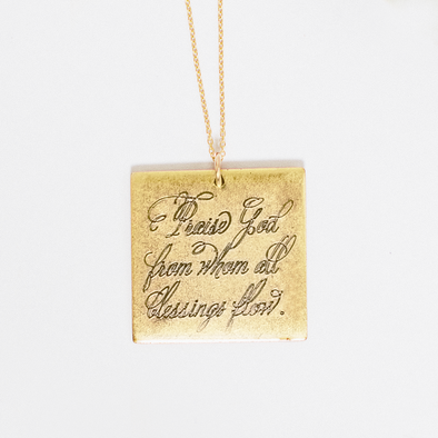 Praise God Necklace