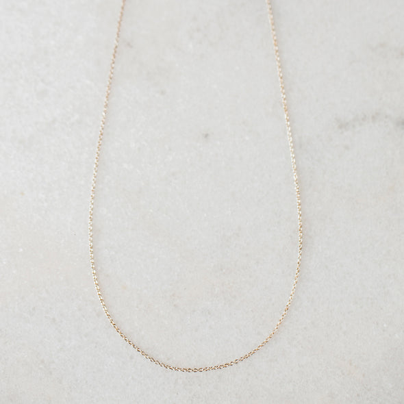 Solid Gold Chain | 14-Karat