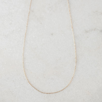 Solid Gold Chain for Baby and Child