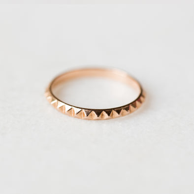 Spiked Eternity Ring | 14-Karat