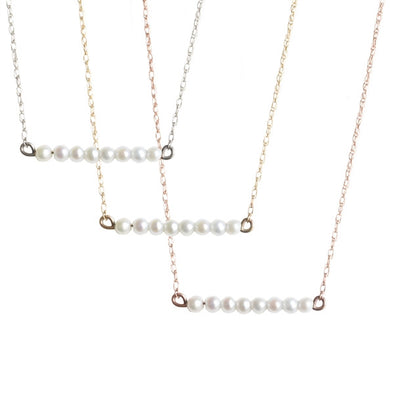 Pearl Bar Necklace | Last Minute Gifts