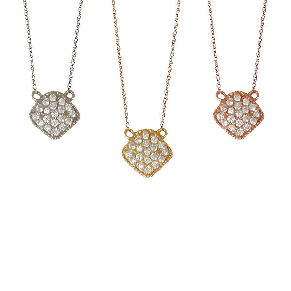 Diamond Square Necklace | Last Minute Gifts
