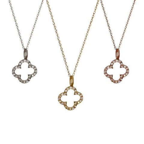 Diamond Clover | 14-Karat