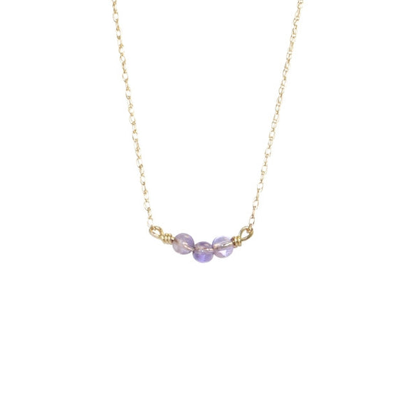 Lavender Splash Necklace
