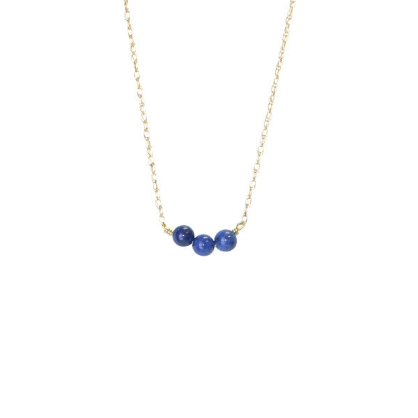 Royal Blue Splash Necklace