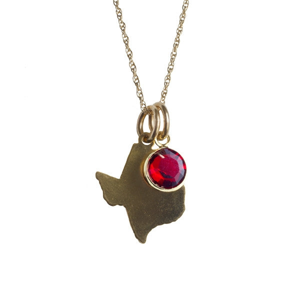 Texas Tech University Necklace