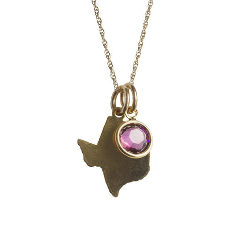 Texas Christian University Necklace