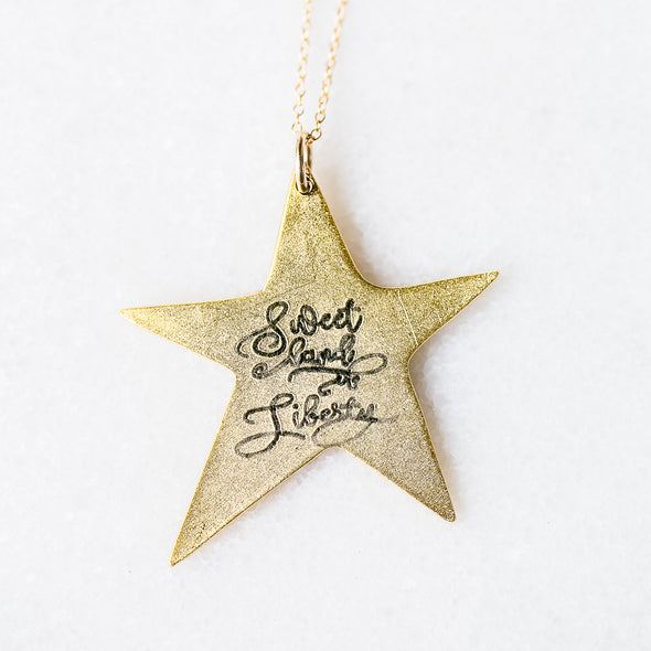 Sweet Land of Liberty Necklace