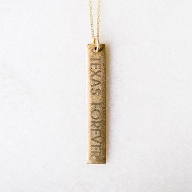 Texas Forever Necklace