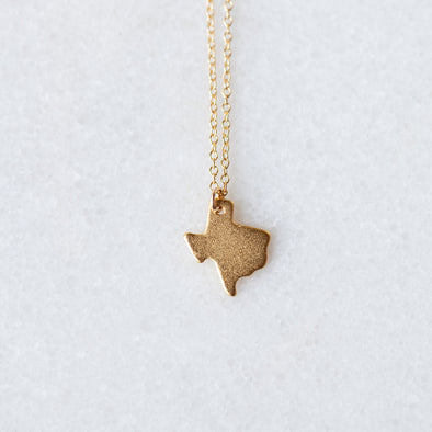 Golden Texas Necklace