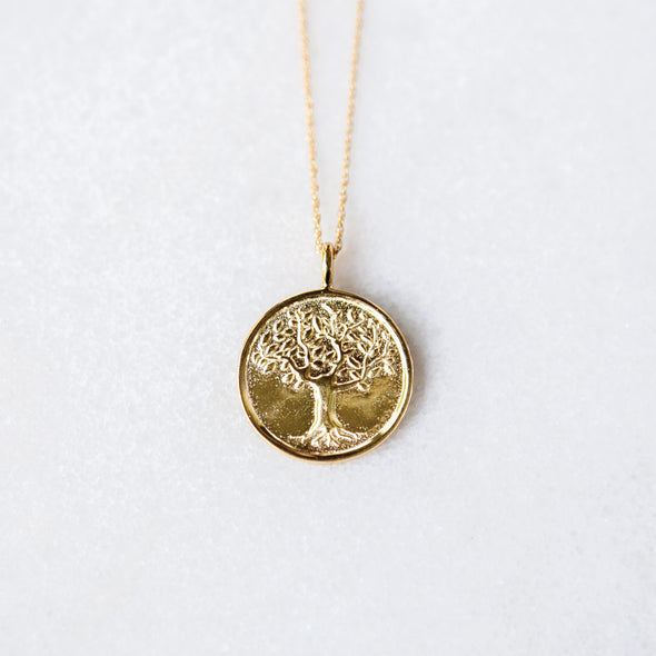 Tree of Life Necklace | 14-Karat