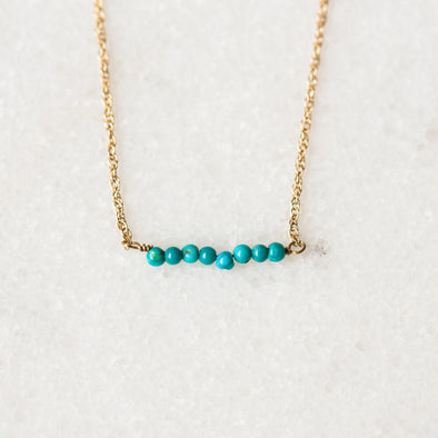 Turquoise Bar Bracelet for Baby and Child