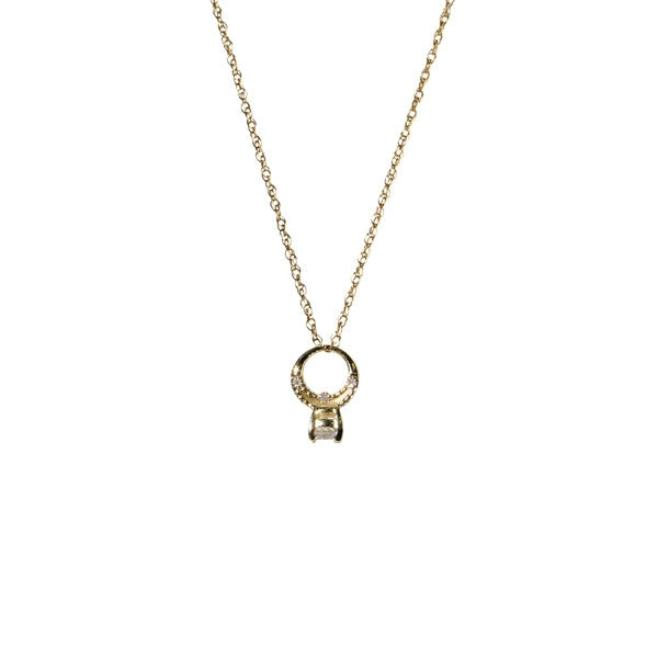 Bling Ring Necklace