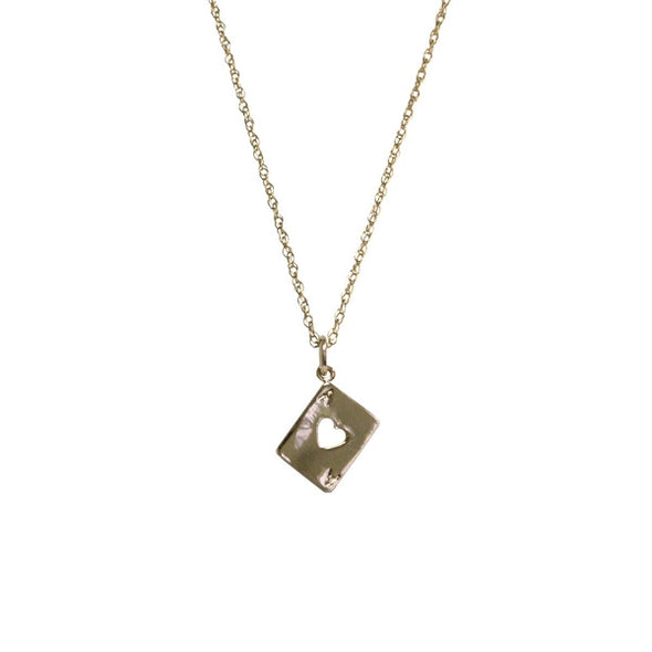 Ace of Hearts Necklace