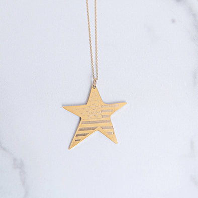 Stars and Stripes Necklace