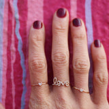 Diamond Love Ring | 14-Karat