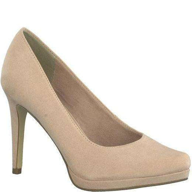 Court Shoe High Heel Suede Tamaris Rose