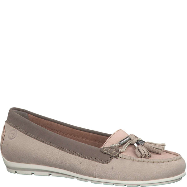 Loafer Leather With Tassel Tamaris Shell