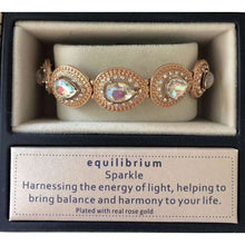 Equilibrium Crystal Stretch Bracelet