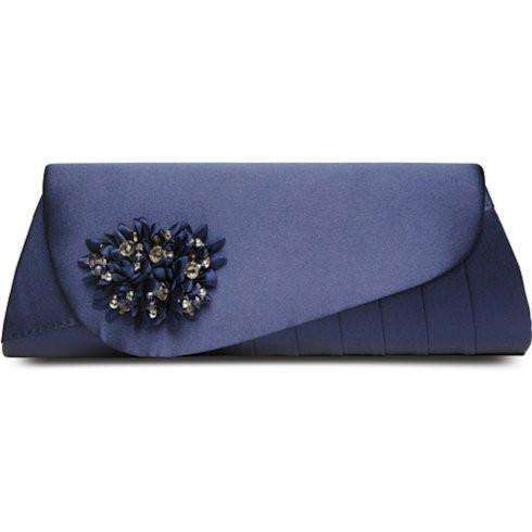 Lunar Sabrina Navy Blue Matching Clutch Bag