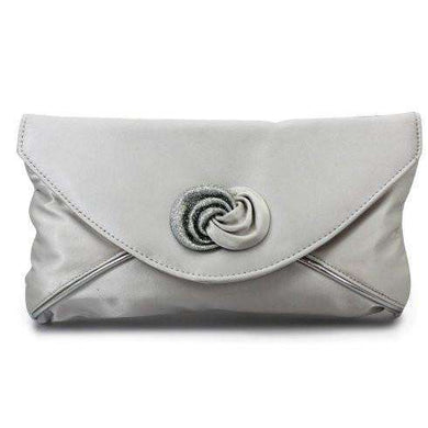 Lunar Ripley Silver Matching Clutch Bag