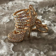 Key Ring/Bag Charm Diamante High Heel
