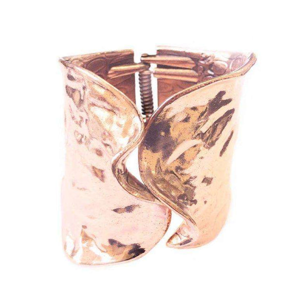 Love The Links Tierra Cuff In Imitation Rose Gold