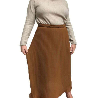 Skirt Pleated Plain (4 Colours)
