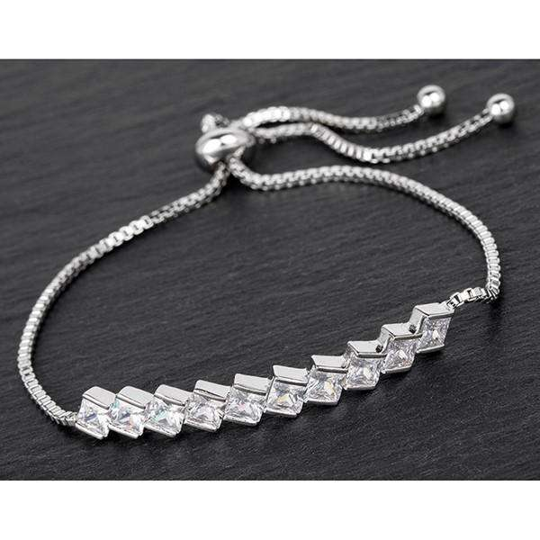 Equilibrium Modern Crystal Friendship Bracelet