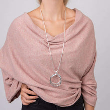 Love The Links Double Ring Necklace (2 Colours)