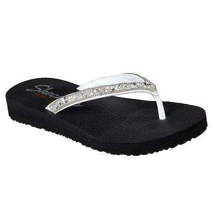 Skechers Sandal Meditation Tahiti Sole White