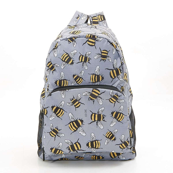 Eco Chic Foldable Backpack Bee (2 Colours)