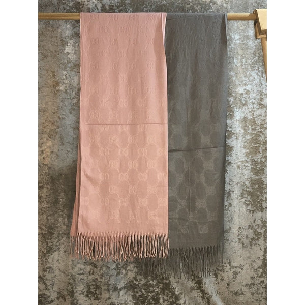Embossed Designer Inspired Scarf