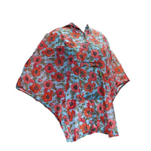 Compact Small/Children's Poncho Eco Chic Poppies