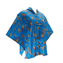 Compact Small/Children's Poncho Eco Chic Pheasant And Grouse