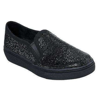Skechers Slip On Trainer Sparkle Black
