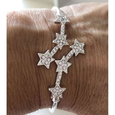 Equilibrium Star Crystal Bangle