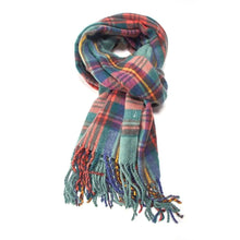 Scarf Tartan Knit (2 Colours)