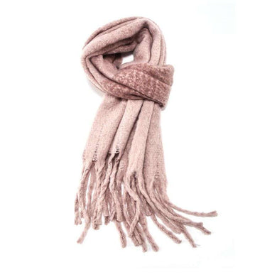 Scarf Plain Soft Knit (2 Colours)