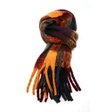 Scarf Tartan Soft Knit (3 Colours)