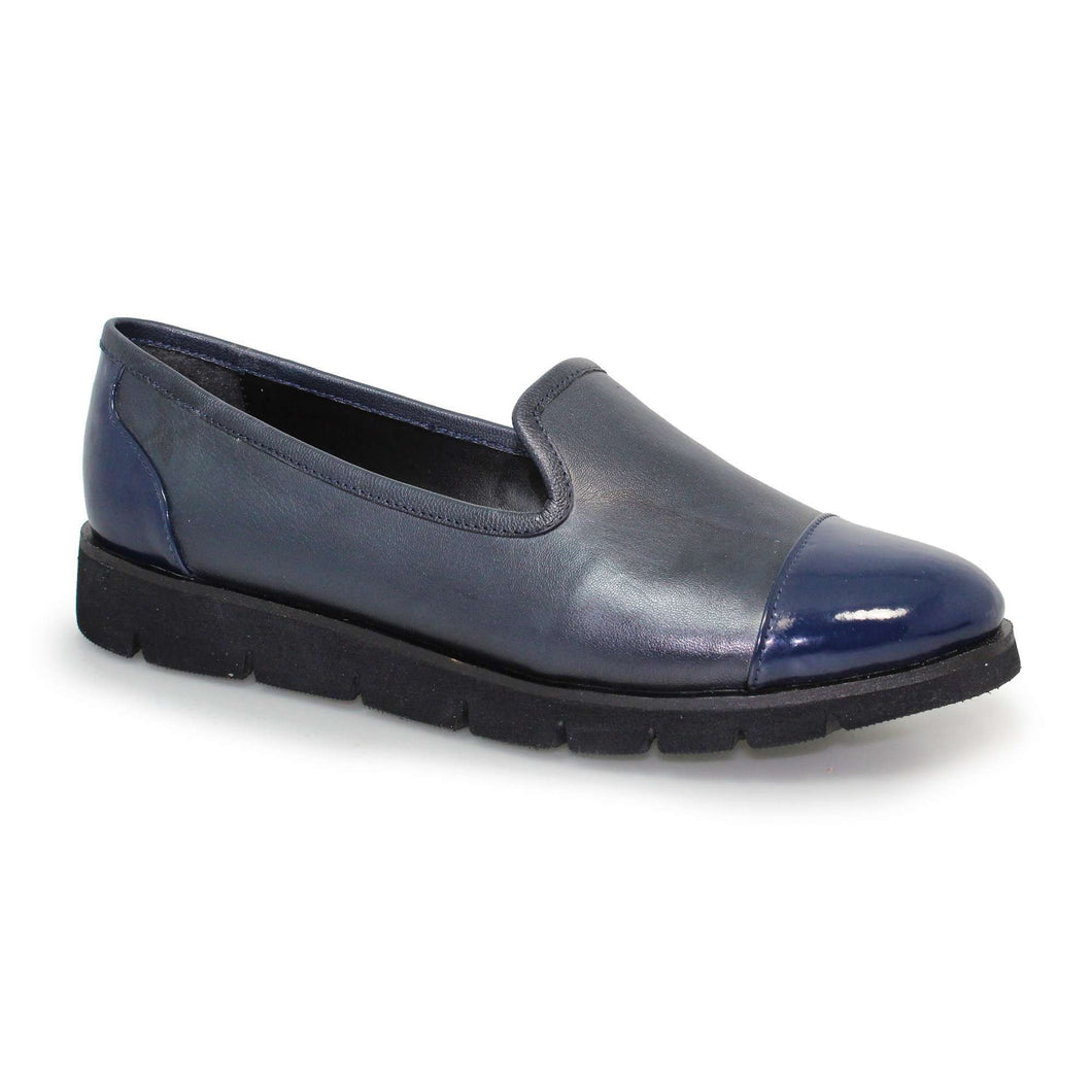Pump Shoe Casual Lunar Butler Navy