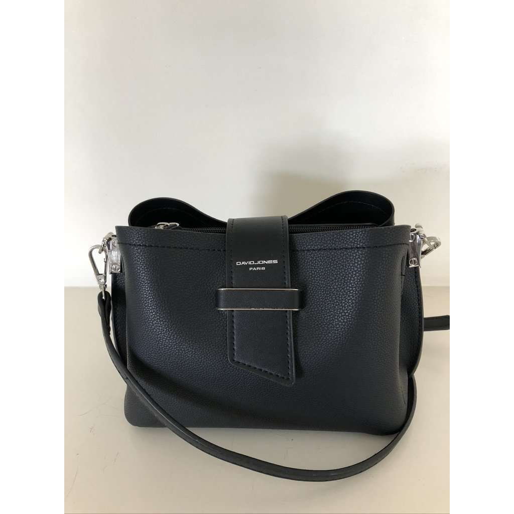 David Jones Small Structured Crossbody (2 Colours)