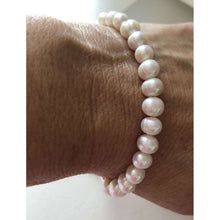 Freshwater Silver Plated Pearl Friendship Bracelet