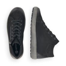 Remonte Black Nubuck Leather Tex Trainer Style Boot