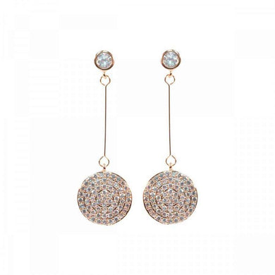 Love The Links Sparkly Disc Earrings (3 Colours)