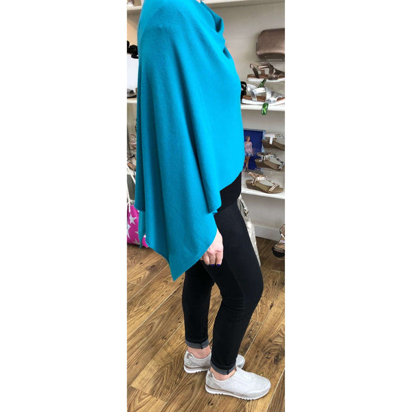 D.E.C.K Cowl Neck Poncho (12 Colours)