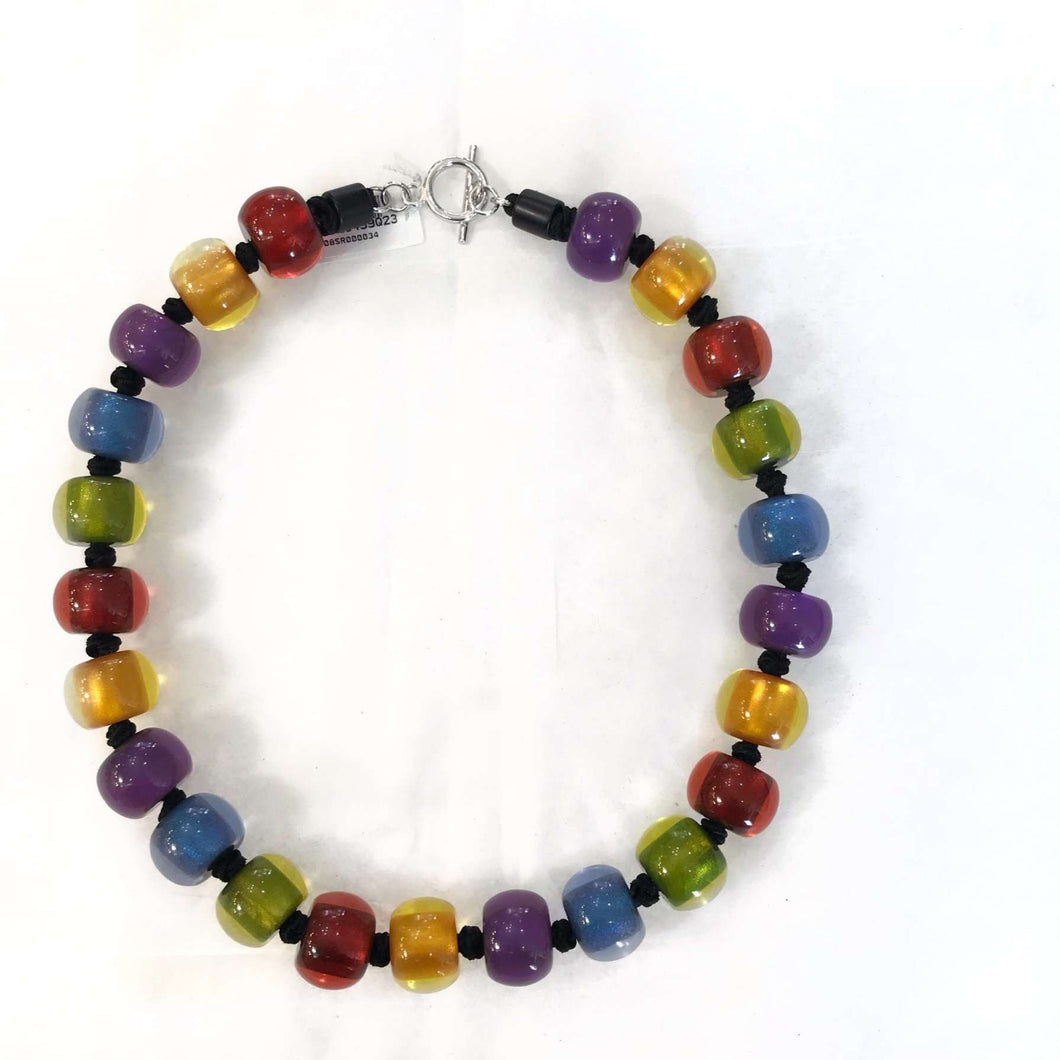 Zsiska Multi-Coloured Beaded Necklace
