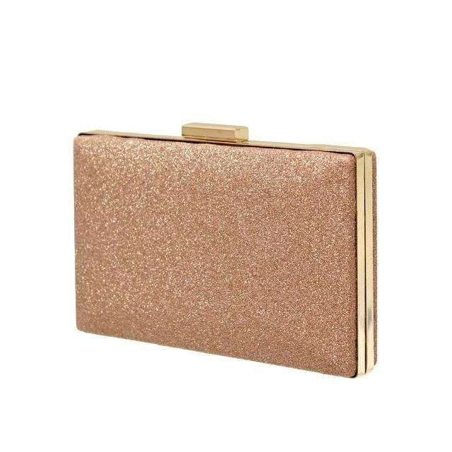 Envy Occasion Glitter Clutch Bag (3 Colours)